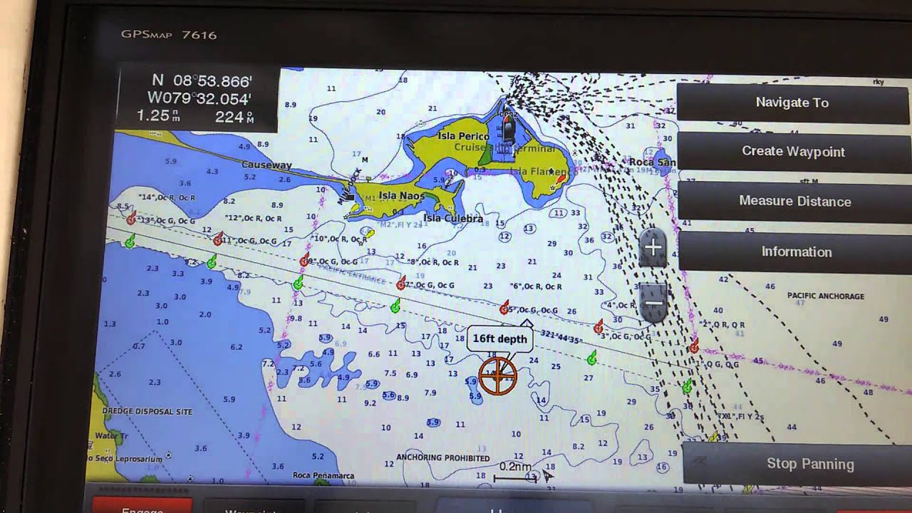 Garmin GPSMAP 7616 autopilot problem