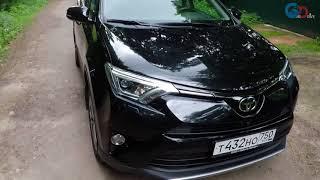 видео Тест-драйв Toyota RAV4 (поколение IV рестайлинг)