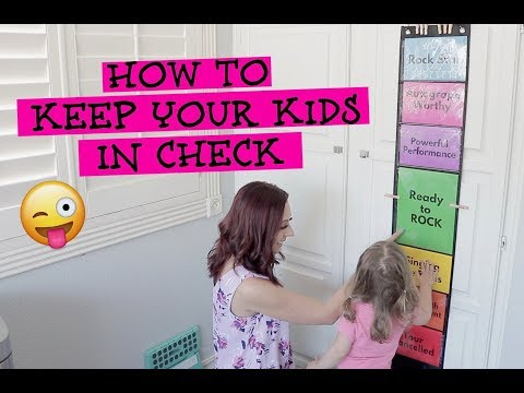 TRYING OUT NEW BEHAVIOR CHART// GREAT FOR HOMESCHOOLING// MOM HACK