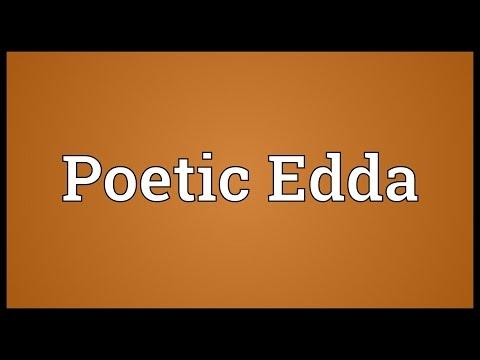Poetic Edda Meaning