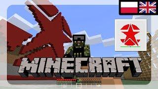 Minecraft - Original War game Russian Logo (star) in Minecraft