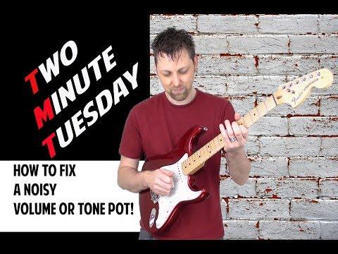 How To Fix A Noisy Crackling Volume/Tone Pot