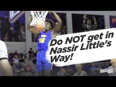 NASSIR LITTLE Plays With AGGRESSION at City of Palms Classic!