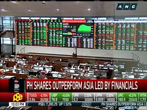 PH shares, led by financials, outperform Asia
