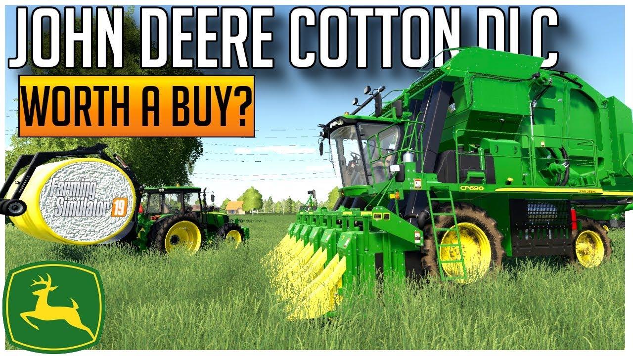 Farming simulator 19 john deere cotton dlc free download