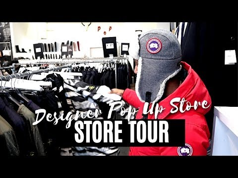 STONE ISLAND, MONCLER, CANADA GOOSE BELOW RETAIL😍😍??? PASS THROUGH HERE!!! STORE TOURS