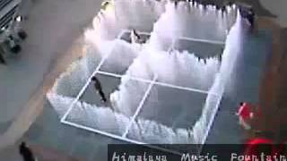 water puzzle fountain Himalaya Music Fountain