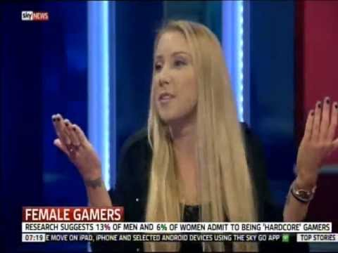 Are Women Gamers Getting Addicted? Sky News Debate with Julia Hardy