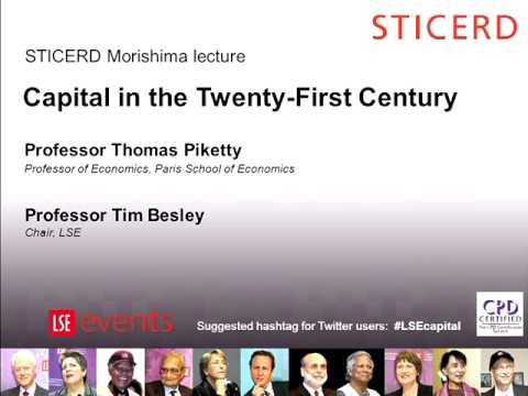 Capital in the Twenty-First Century [Slides+Audio]