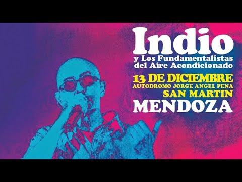Roxana Porchelana (en vivo) - Indio Solari en Mendoza (13-12-2014) HD