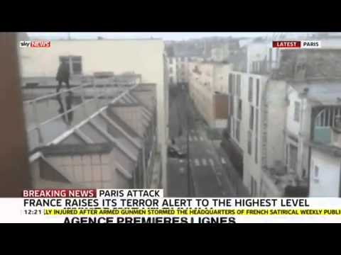 Paris Attack: Footage Of The Attackers