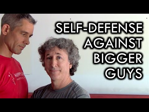 Self Defense Tip Against a Bigger, Stronger Opponent