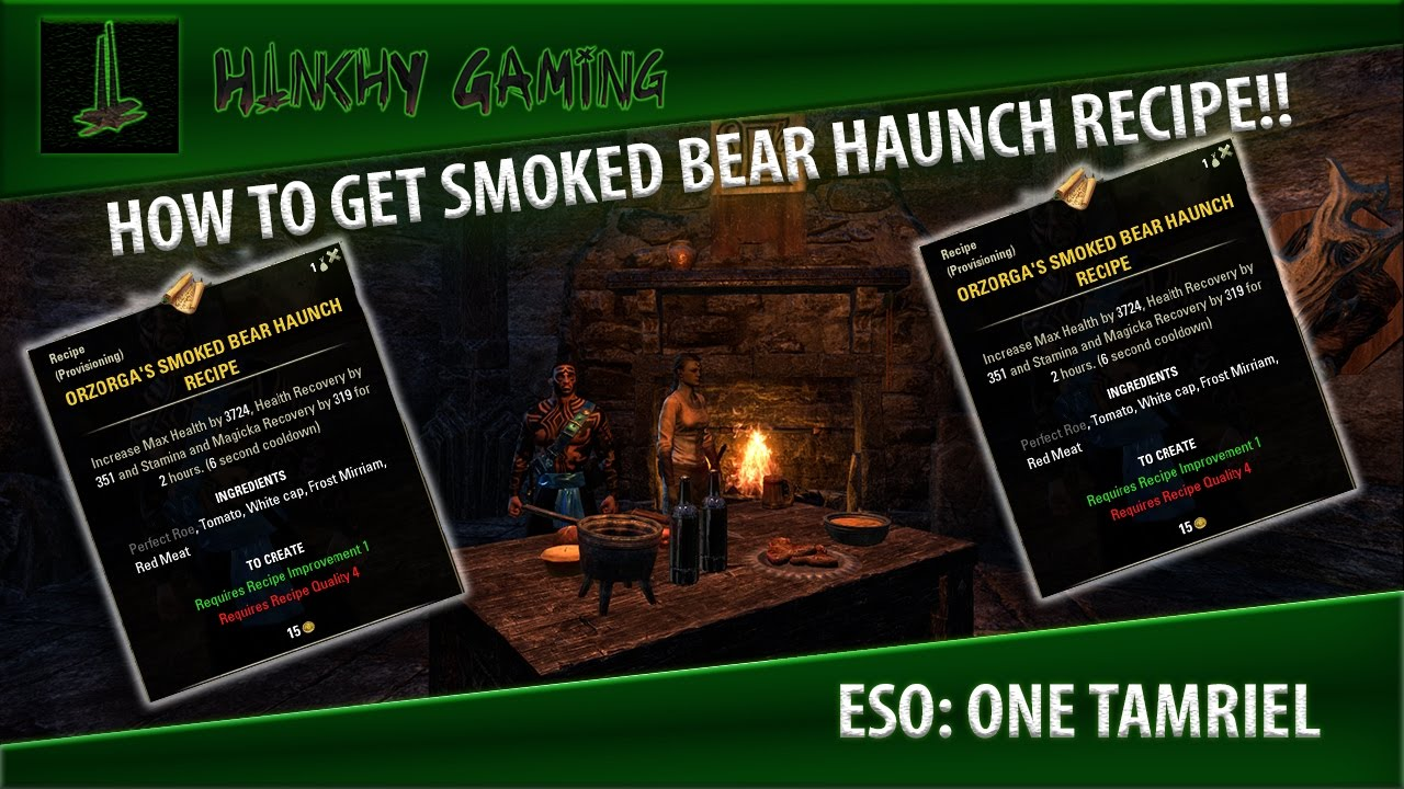 Eso one tamriel how to get orzorgas smoked bear haunch recipe eso one tamriel how to get orzorgas smoked bear haunch recipe elder scrolls online forumfinder Image collections