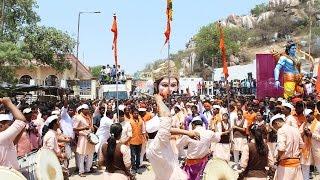 Dhol Tasha Dhol Garjana At Sri Ram Navami Shobha Yatra Maha Aa