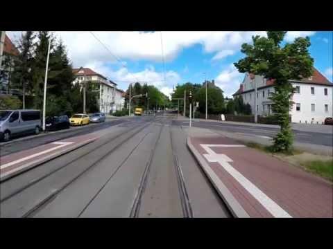 Führerstandsmitfahrt KT4D Zwickau , Betriebshof - Linie 4