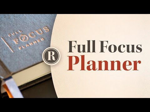 How I Use the Full Focus Planner