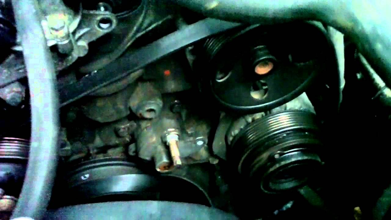 How To Replace Belt Tensioner Shockmercedes W202 C230 Youtube Mercedes C220 Wiring Harness