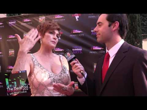 Carolyn Hennesy Interview at MARILYN! Premiere