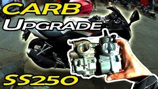 CARB Upgrade - ft. Breezy Rider - RUSI SS250 - Episode 4 - RussTee Upgrade Series