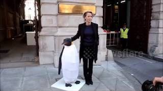 Gillian Anderson at foreign office
