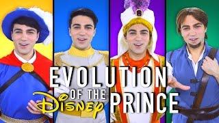 EVOLUTION OF THE DISNEY PRINCE MEDLEY | Daniel Coz