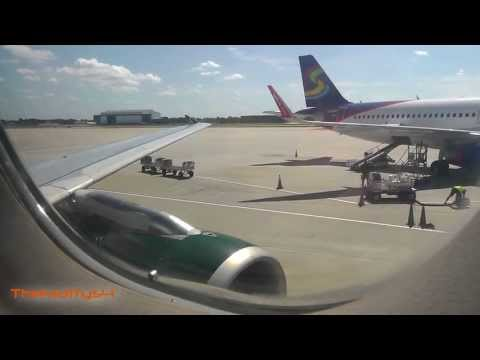 Frontier Airlines Taxi and Takeoff Tampa Intl Airport