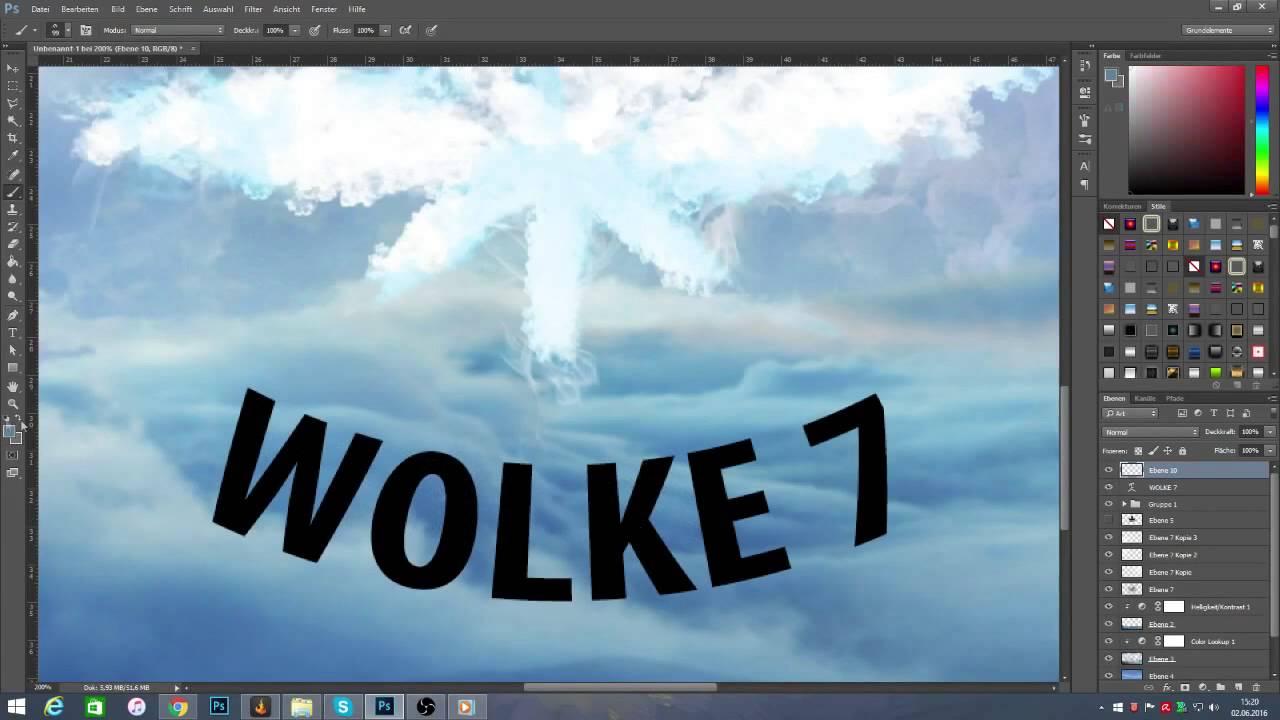 Wolke 7   Speedart - YouTube
