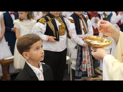 První Svaté Přijímání 2019 – Uherský Brod, Klip