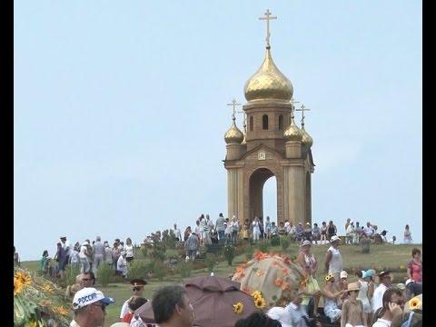 220-летие со дня основания первой церкви на Кубани отметили в субботу жители Краснодарского края.