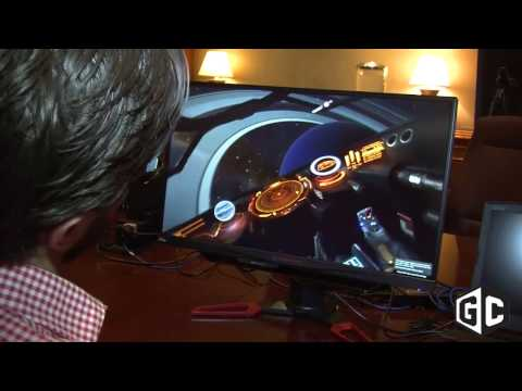 CES 2017: Tobii Eye Tracking   the future of gaming control