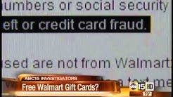 Is Walmart gift card offer scam or real?