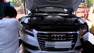 Audi A7 Full Led Headlight Conversion