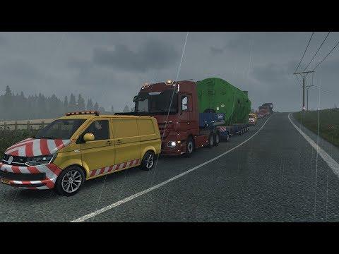 ETS 2 # Special Transport + moja muzika // Logitech G920 cam
