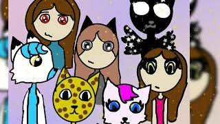 Мои подписчики ! Коготь топ, Foxylina wolf,Вика-Радуга 35, моя подруга Полина, Звездолапка и Кити
