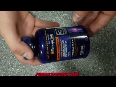 Puritan's Pride Glucosamine Chondroitin With MSM Видео