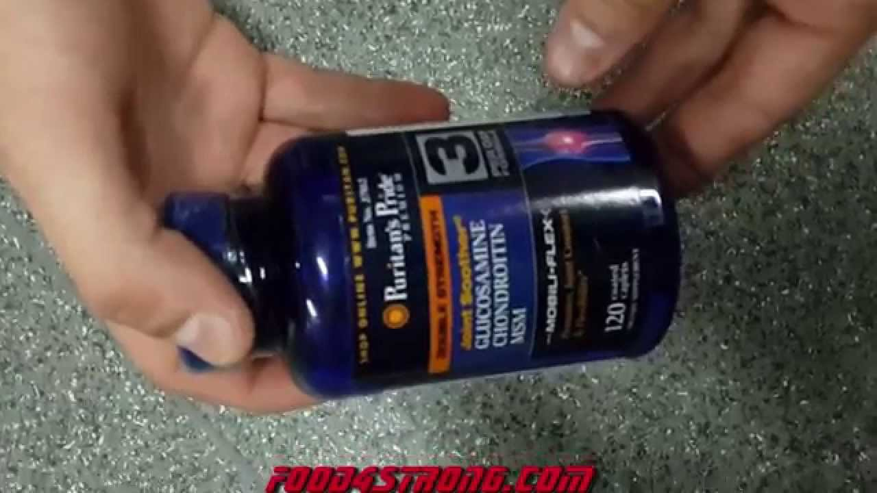 Puritans Pride Glucosamine Chondroitin With Msm Youtube Puritan Triple Strength 90 Caplets