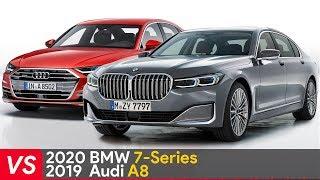 2020 BMW 7 Series Vs 2019 Audi A8 ► Design & Specifications Comparison