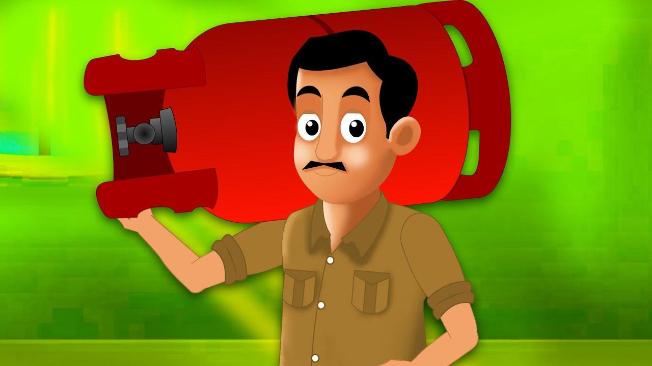 गैस सिलेंडर वाला कहानी | Gas Cylinder wala ki Kahani | हिंदी कहानिय Hindi Kahaniya Comedy Video