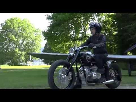 BMW R5 Hommage Conceptbike Sound und Fahraufnahme