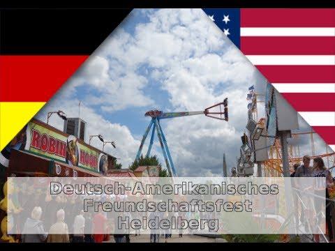 Heidelberg Deutsch-Amerikanisches Volksfest mit US-Cars Fahrten [ Reportagenfilm ]
