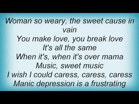 Stevie Ray Vaughan - Manic Depression Lyrics