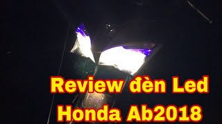 Honda Ab 2018 - Review Đèn Led.