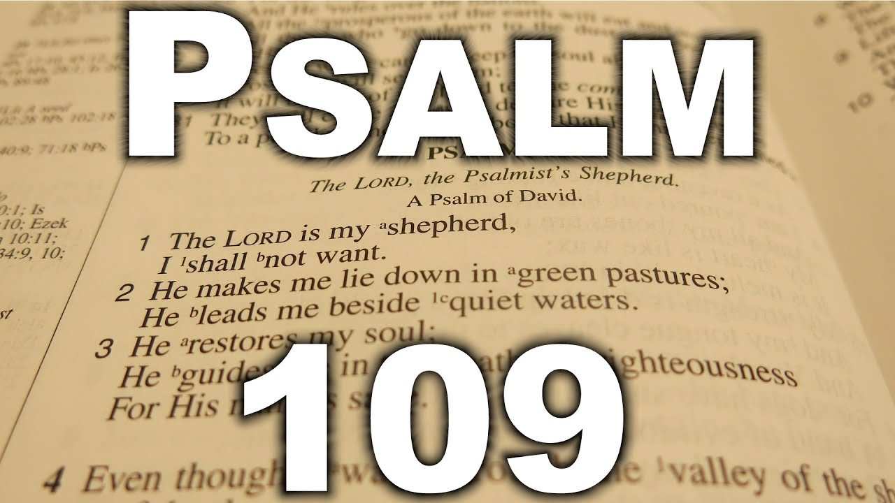 PSALM 109 - King James Version. - YouTube