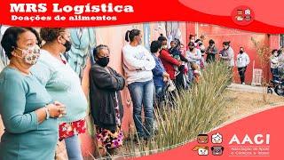 Doações de alimentos MRS logística