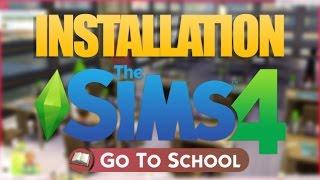 SIMS 4 GO TO SCHOOL - Installation mod