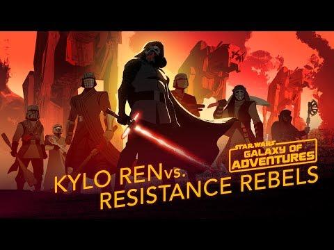 Kylo Ren vs. Resistance Rebels   Star Wars Galaxy of Adventures