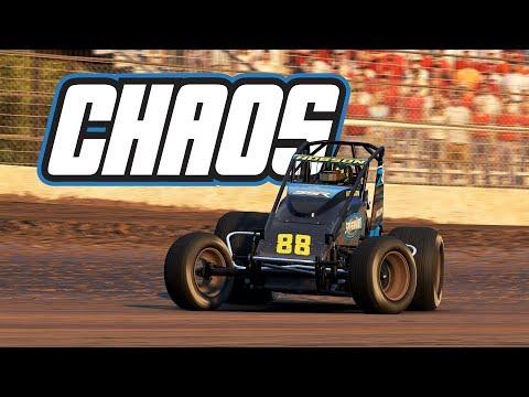 iRacing: Chaos! (Wingless Sprintcar @ Kokomo)