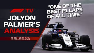 Was George Russell's Q3 Lap At Spa One Of The Best Of All Time? | Jolyon Palmer's F1 TV Analysis
