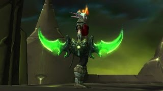 Prep NOW for the TRANSMOG WARGLAIVES in 7.2.5!
