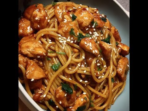 Kung Pao Chicken And Noodles